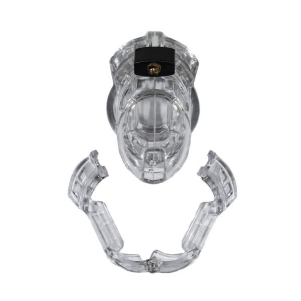 Clear Full Assembly Display of The Vice Inescapable Chastity Device